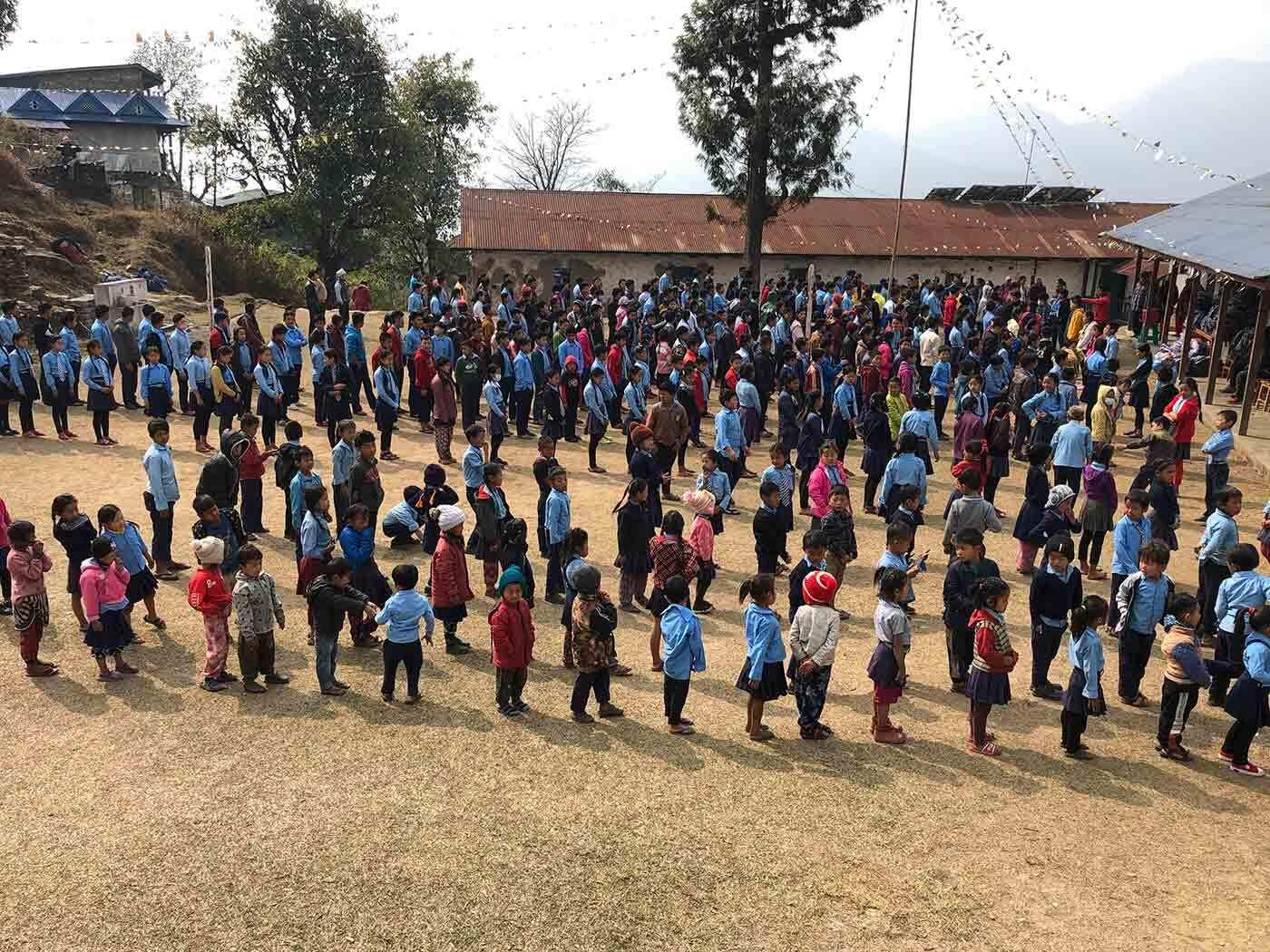 School's Bag Distribution Project